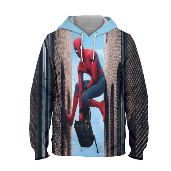 Spider Man Kevin Feign Discusses Hoodie – 3D Printed Pullover Hoodie