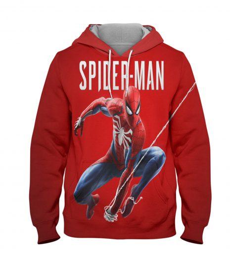 Spider Man Marvel Hoodie – 3D Printed Pullover Hoodie