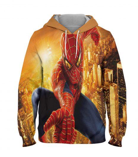 Spider Man Orumcek Adam Hoodie – 3D Printed Pullover Hoodie