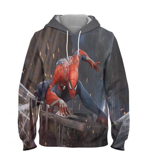 Spider Man Sony Buys Hoodie – 3D Printed Pullover Hoodie