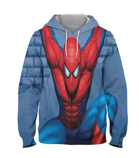 Spider Man Super Hero Hoodie – 3D Printed Pullover Hoodie