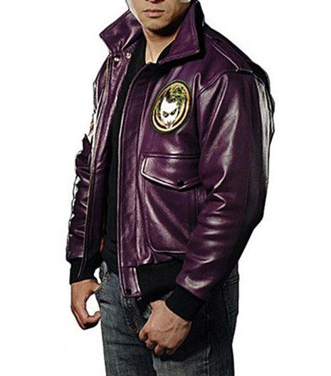 The Batman Heath Ledger Leather Jacket 2021