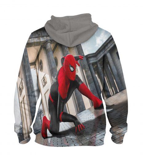 Ver Spider Man Hoodie – 3D Printed Pullover Hoodie