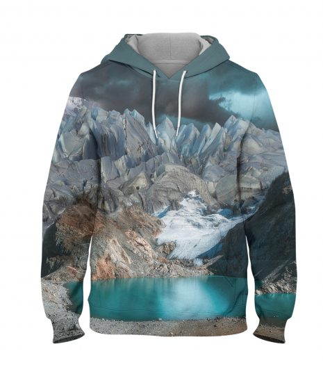 landscape Hills – 3D Printed Pullover Hoodie