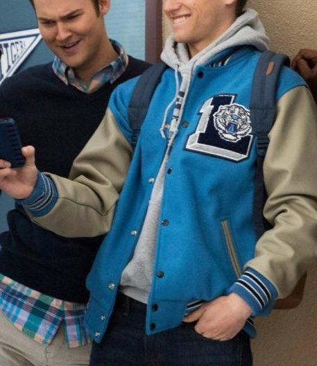 13 Reasons Why Justin Foley Letterman Jacket