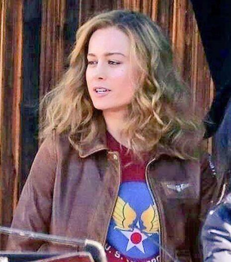 Carol Danvers Bomber Jacket