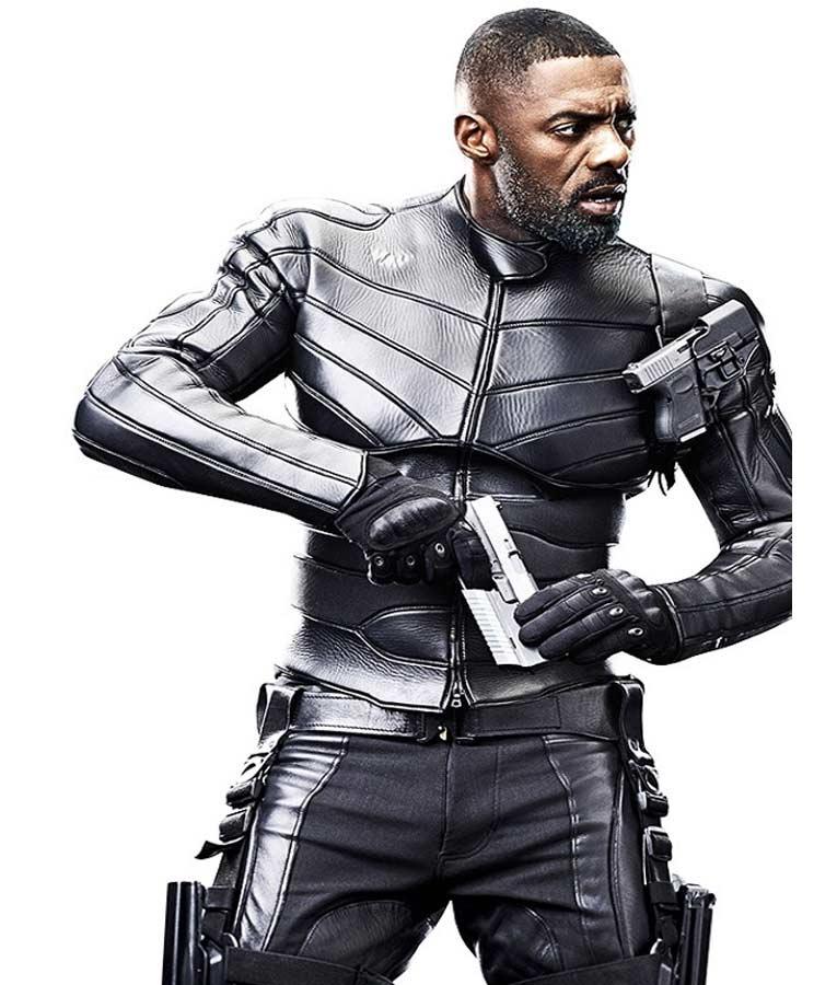 Fast-and-Furious-Hobbs-Shaw-Idris-Elba-Slimfit-Black-Leather-Jacket
