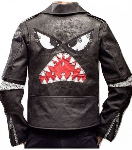 Daft Punk Instant Crush Shark Julian Casablancas Leather Jacket