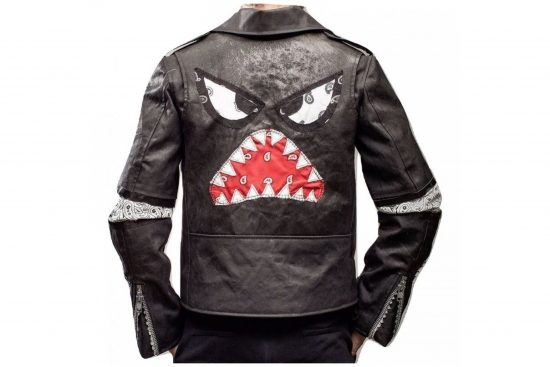 Daft Punk Instant Crush Shark Julian Casablancas Leather Jacket
