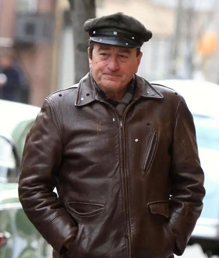 Robert-De-Nior-Brown-Leather-Jacket