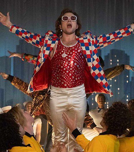 Elton John Rocketman Checked Blazer
