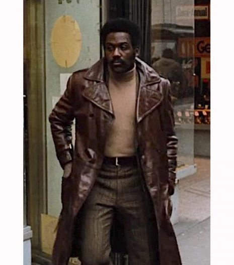 John Shaft 1971 Brown Leather Coat