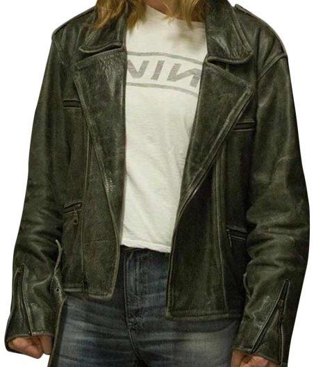 Captain Marvel Carol Danvers (Brie Larson) Black Leather Jacket