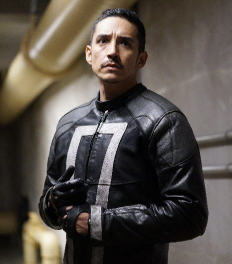 Ghost Rider Agents of Shield leather jacket