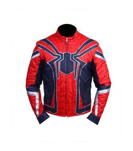 Avengers-Infinty-War-Spider-Man-Leather-Jacket-1-500x717