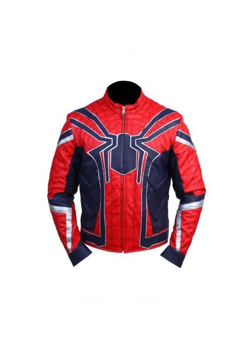 Avengers-Infinty-War-Spider-Man-Leather-Jacket-1-500×717