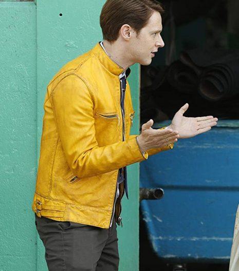Dirk Gently Holistic Detective Yellow Jacket