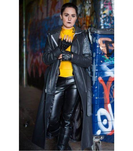 Deadpool Ellie Phimister Trench Coat