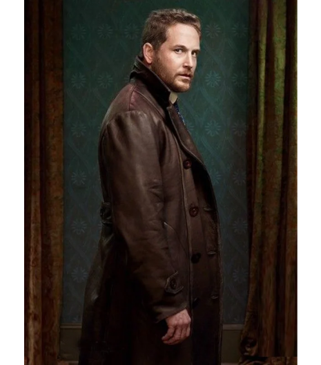 THE LIZZIE BORDEN CHRONICLES COLE HAUSER LEATHER COAT