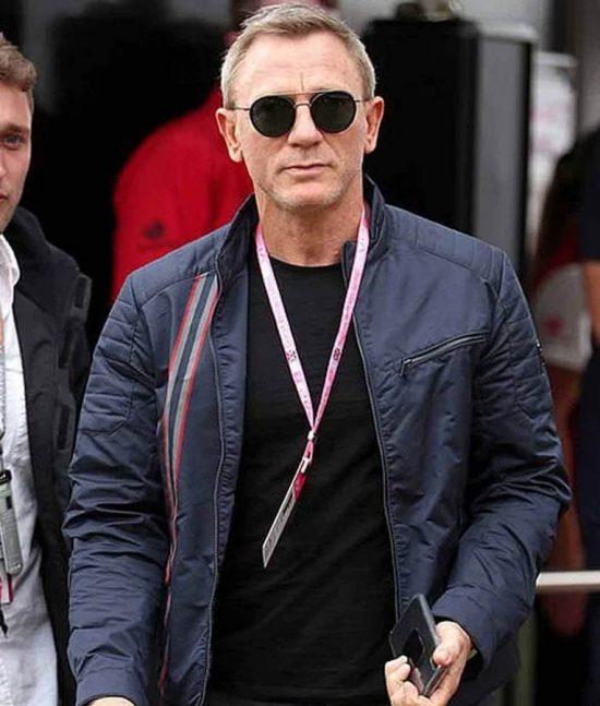 James Bond No Time To Die Cotton Jacket
