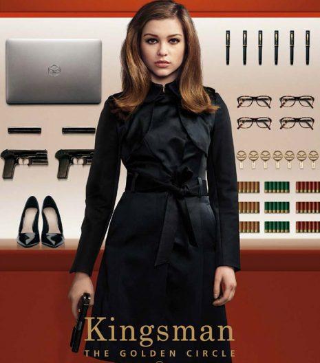 Kingsman Agent Lancelot Roxy Coat