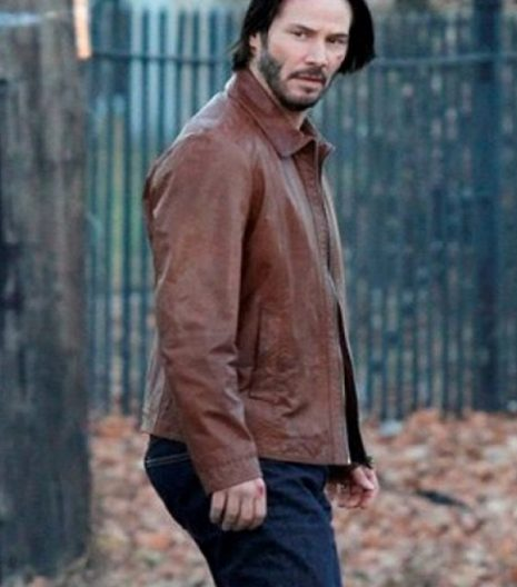 John Wick Keanu Reeves Leather Jacket