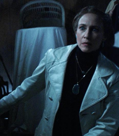 Vera Farmiga The Conjuring Leather Jacket
