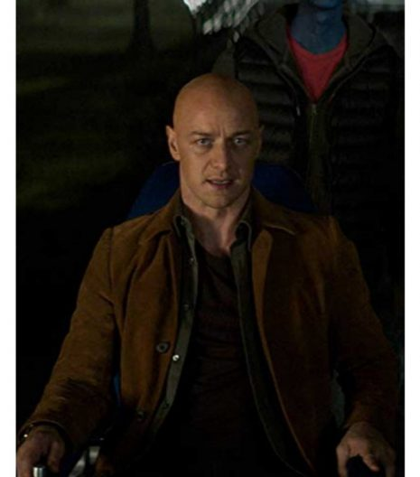 X-Men Dark Phoenix Professor Charles Xavier Jacket
