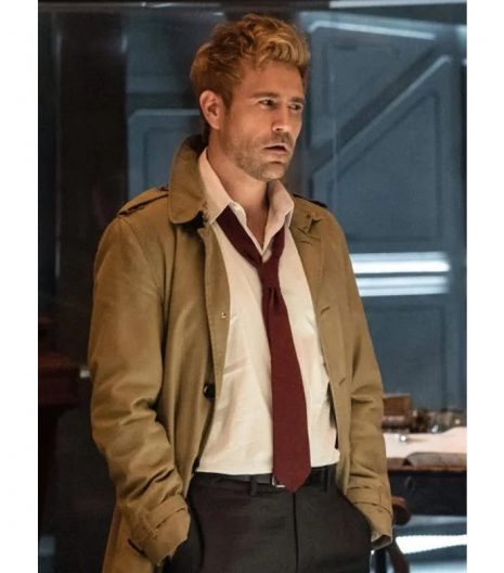Constantine Matt Ryan Trench Coat