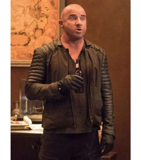 Dominic Purcell Dc Legends Of Tomorrow Leather Jacket