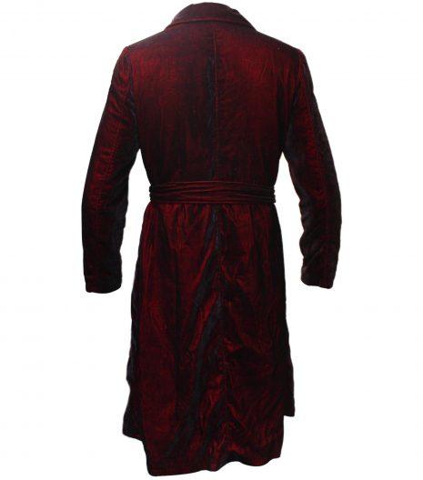 Grace Sachs The Undoing Velvet Red Coat