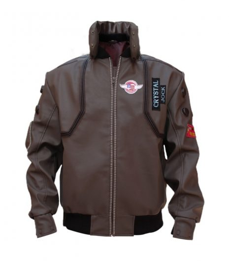 Samurai Stylish Brown Leather Jacket