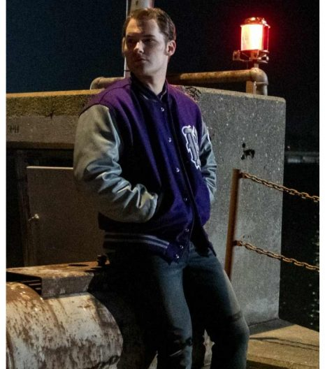 13 reasons why bryce walker letterman wool jacket