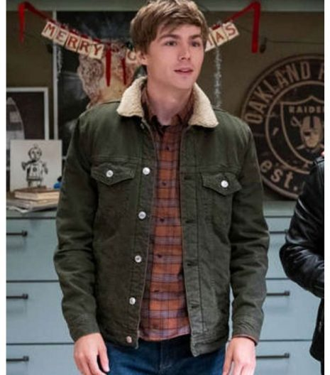 13 Reasons Why s04 Alex Standall Denim Jacket