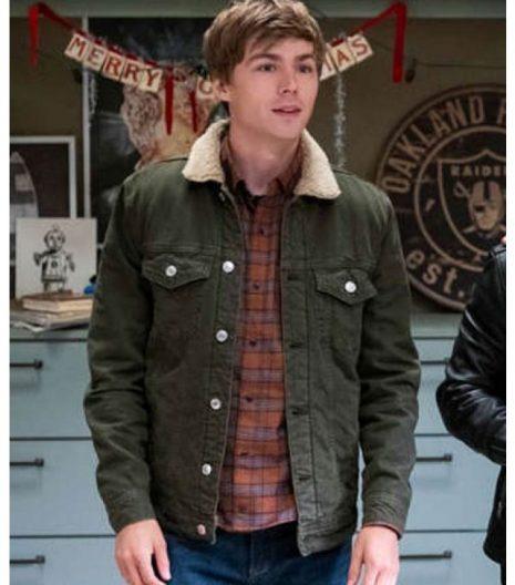 13 Reasons Why s04 Alex Standall Denim Jacket