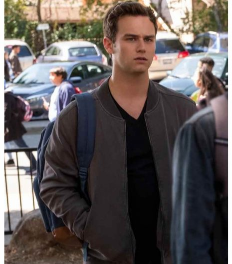 13 Reasons Why s04 Justin Foley Cotton Jacket