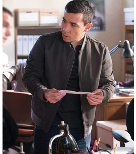 How To Get Away With Murder Oliver Hampton Cotton Jacket