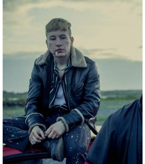 Barry Keoghan Calm with Horses Leather Jacket