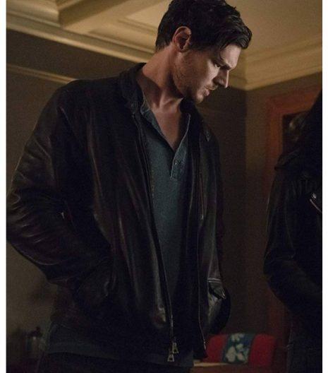 Jessica Jones S03 Erik Gelden Leather Jacket