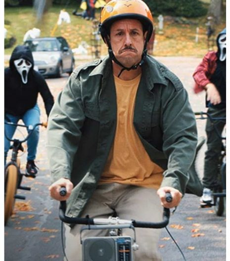 Adam Sandler Hubie Halloween Green Jacket