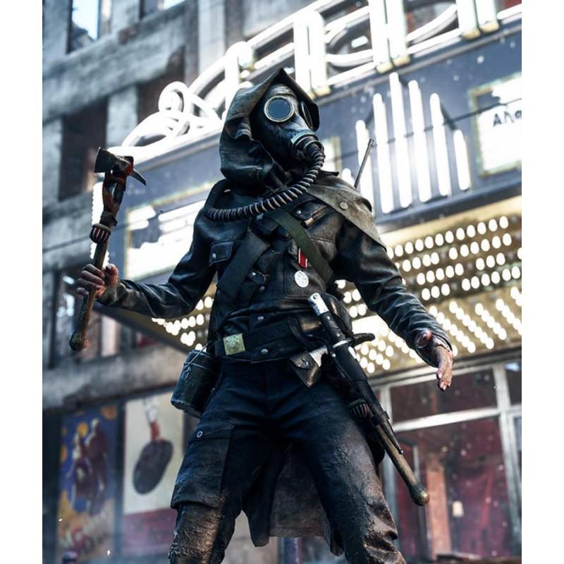 Battlefield 5 Ilse Schattenwolf Brown Leather Jacket