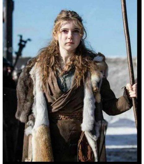 Britannia S03 Eleanor Worthington-Cox Fur Coat