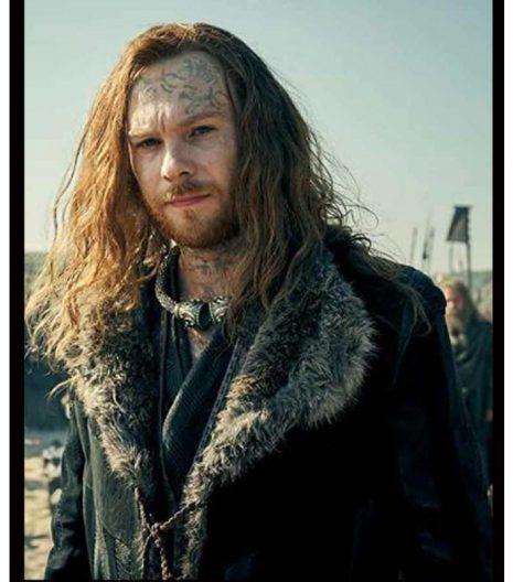 Britannia S03 Sion Alun Davies Black Coat