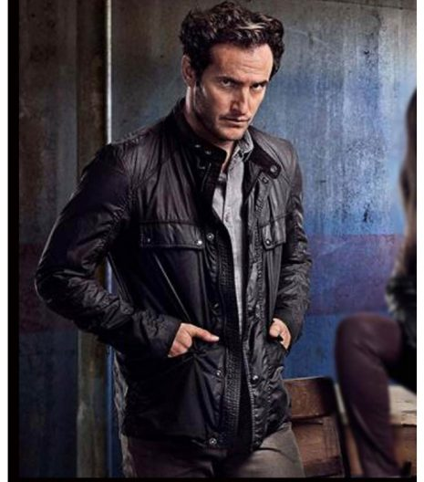 Condor S02 Deacon Mailer Leather Jacket