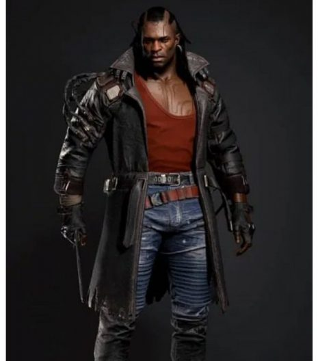 Cyberpunk 2077 Placide Leather Trench Coat