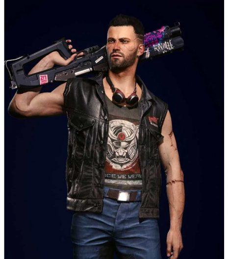 Cyberpunk 2077 V Nomad Leather Vest