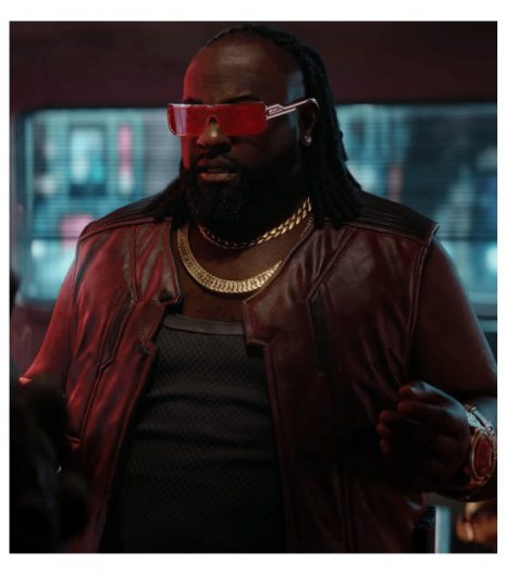 Cyberpunk 2077 Dexter Deshawn Leather Vest
