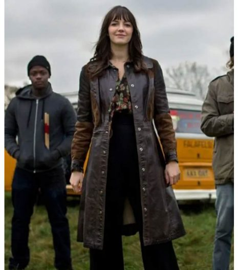 Ella Hunt Kat And The Band Coat