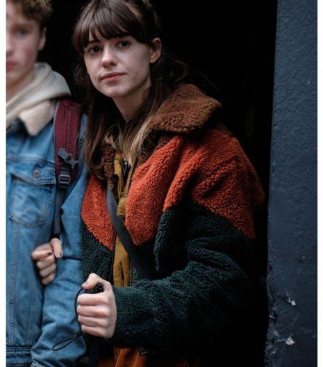 Emily Gresham War of the Worlds Sherpa Jacket