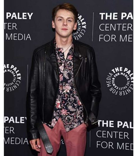 Cobra Kai Jacob Bertrand Leather Jacket